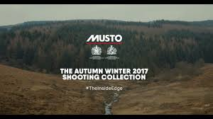 musto aw17 shooting u0026 country lifestyle collection youtube