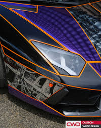 wrapped lamborghini miami car wraps