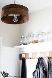 Home Lighting Design Tutorial Grain Sieve Wood Light Fixture Chandelier Tutorial Id Lights