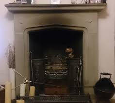 Clean Fireplace Stone by How To Clean A Neglected Stone Fireplace