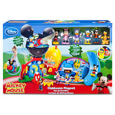 Mickey Mouse Table And Chairs by Amazon Com Disney Exclusive Mickey Mouse Clubhouse Playset Toys