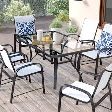 six person patio dining sets you ll wayfair