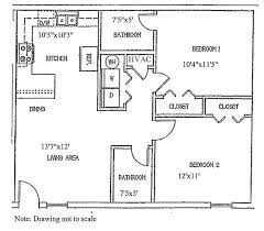 Apartments Floor Plan Grandview University Of North Alabama
