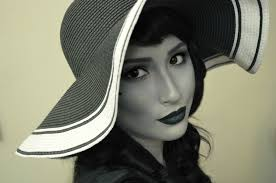 black and white 40 u0027s glamour makeup tutorial youtube