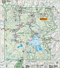 Forest Park Map Map Of Yellowstone National Park Travel Map Vacations