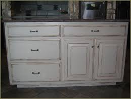 ergonomic antique white distressed cabinets 2 antique white
