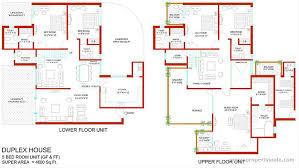 4 Bedroom Open Concept Floor Plans Stunning Design 5 4 Bedroom Duplex Floor Plans House Homeca