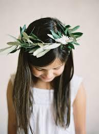hair wreath flower girl hair wreath elizabeth designs the wedding