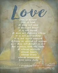 Wedding Verses 1 Corinthians 13 4 8 Love Is Patient Love Is Kind Wedding Verses