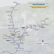 map of le mans river sarthe and river le loire european waterways eu