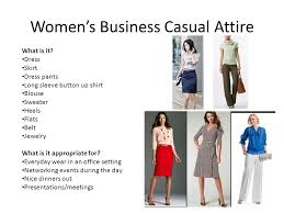 professional dress for men u0026 women for all occasions ppt video