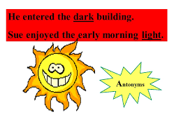 Light Synonyms Synonyms And Antonyms Ppt Video Online Download