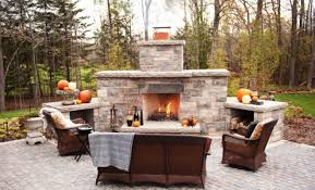 Backyard Fireplace Ideas An Outdoor Fireplace Installed Be Sure To Consider These 5