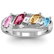 mothers day birthstone rings 96 best s ring images on rings family