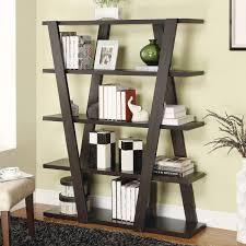 contemporary bookshelves designs living room pinterest throughout