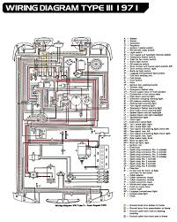 1971 type 3 vw wiring diagram so simple compared to a modern ecu