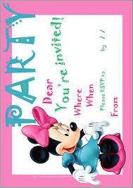 template free printable minnie mouse 1st birthday custom photo