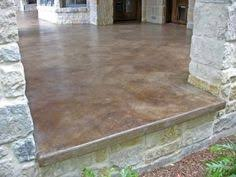 How To Stain Concrete Patio Yourself Concrete Acid Stained Floor Perfect For That Ugly Indoor Porch