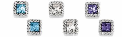 post back earring earrings brighton silver stud hoop post earring for women