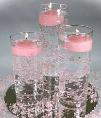 Vase And Candle Centerpieces by 23 Best Candle Centerpieces Images On Pinterest Centerpiece