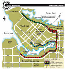 Map Of Vancouver Canada Why Light Rail Transit Is Needed On The Arbutus Corridor
