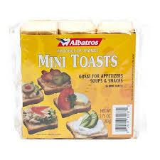 gourmet food online mini toast by albatros from buy other gourmet foods