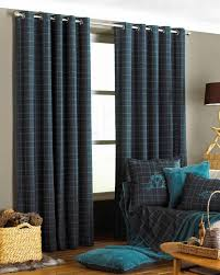 Black Eyelet Curtains 66 X 90 Verbier Ready Made Eyelet Curtains Teal Free Uk Delivery