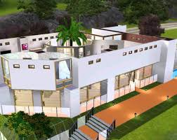 Inside Garden by The Sims 3 Modern House With Inside Garden Youtube