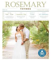 Rosemary Beach Map Rosemary Thymes Spring 2015 By Rosemary Thymes Issuu
