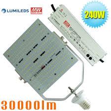 led parking lot lights vs metal halide led bulb lights 240w replace 1000 watt metal halide shoebox fixture
