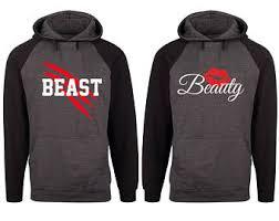 beast hoodie etsy