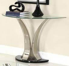 Half Moon Side Table Side Table Half Moon Side Table Best Glass Top Console With