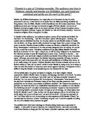 supernatural themes in hamlet hamlet essay hamlet essay on the theme of christian morality in the