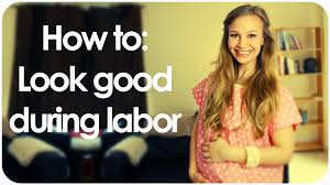 birthing hairstyles how to look good during labor pregnancy pinterest labour