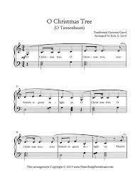 christmas tree free christmas music print save