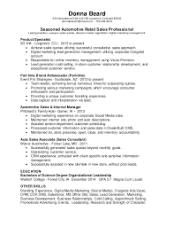 Lead Resume Auto Sales Manager Resume Technical Sales Cover Letter Service