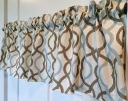Lattice Design Curtains Lattice Valance Etsy