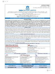 lexus financial services loss payee 99tata motors ltd letter of offer 18 09 08 stocks car