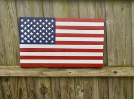 wooden american flag wall american flag wood american flag by customwoodcreations on zibbet