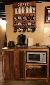 furniture wood microwave carts with storage cabinet for
