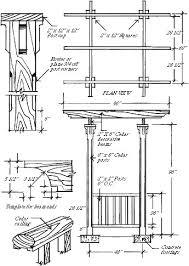 Decks And Pergolas Construction Manual by Building A Red Cedar Pergola Extreme How To