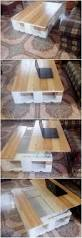 Coffee Tables With Lift Up Tops by Diy Pallet Lift Up Top Laptop Coffee Table Pallet Wood Projects