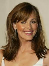brunette hairstyles wiyh swept away bangs yet more hair inspiration indecision hair envy and inspiration
