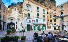 Cliffside Restaurant Italy by Pictures Of Italy Along The Amalfi Coast Travel Leisure