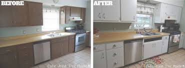 how to paint laminate cabinets refinishing laminate cabinets home design