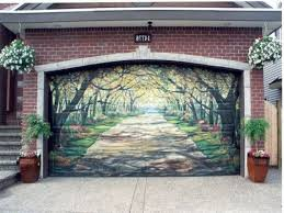 garage door designs 11 of the most awesome garage door murals in