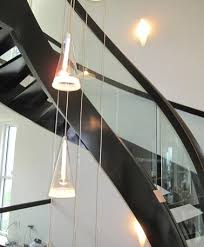 Free Standing Stairs Design Glass Panel Balustrade Custom Staircase Free Standing Stair Builders