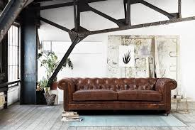 canapé chesterfield ancien canapé chesterfield en cuir kensington