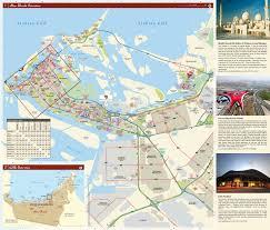 map of abu dabi large scale detailed tourist map of abu dhabi city vidiani