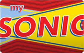 sonic gift cards 10 sonic gift card